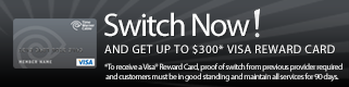 VISA Reward Promotion